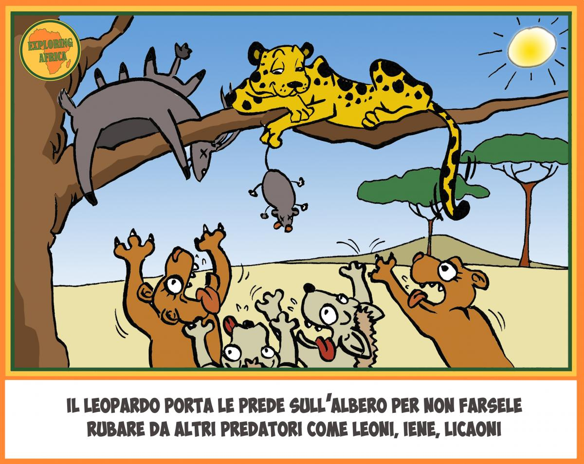 leopard cartoon comics