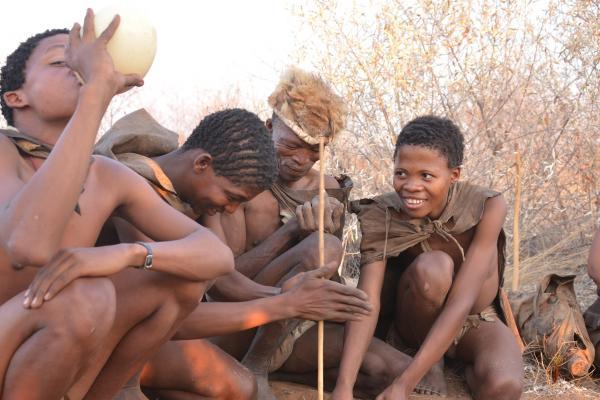 botswana bushmen san exploringafrica safariadv travel