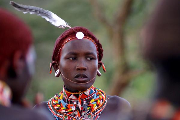 samburu people in kenya:young warrior