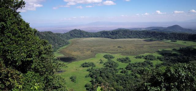 Arusha National Park tanzania africa exploringafrica ngurdoto crater