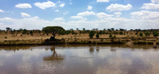 Serengeti National Park: Mara River at Kogatende Ranger Station