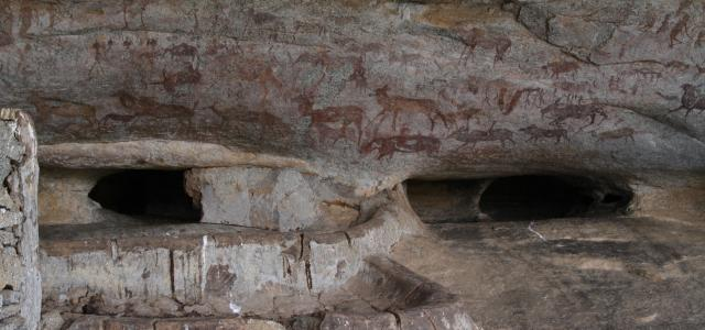 Petroglyph zimbabwe matopos