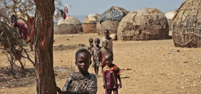 Samburu village in Kenya