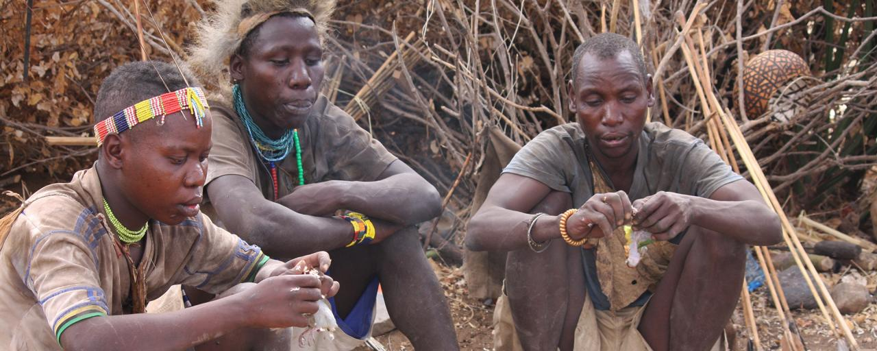 hadzabe people tanzania
