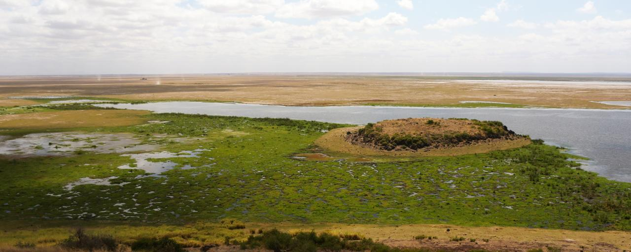 observation hill in Amboseli National Park