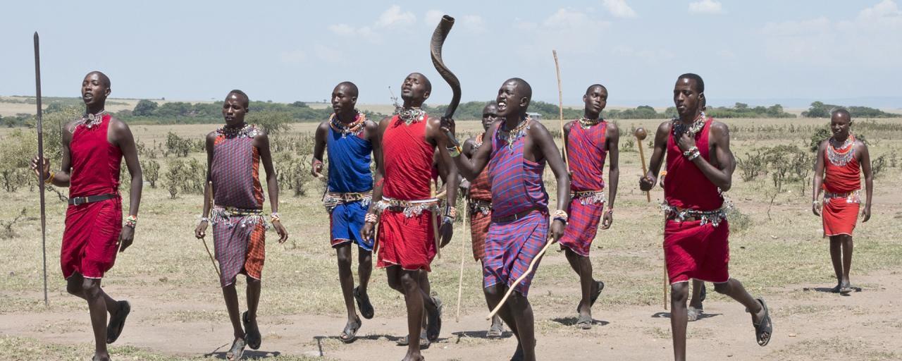 maasai in Ngorongoro Conservation Area