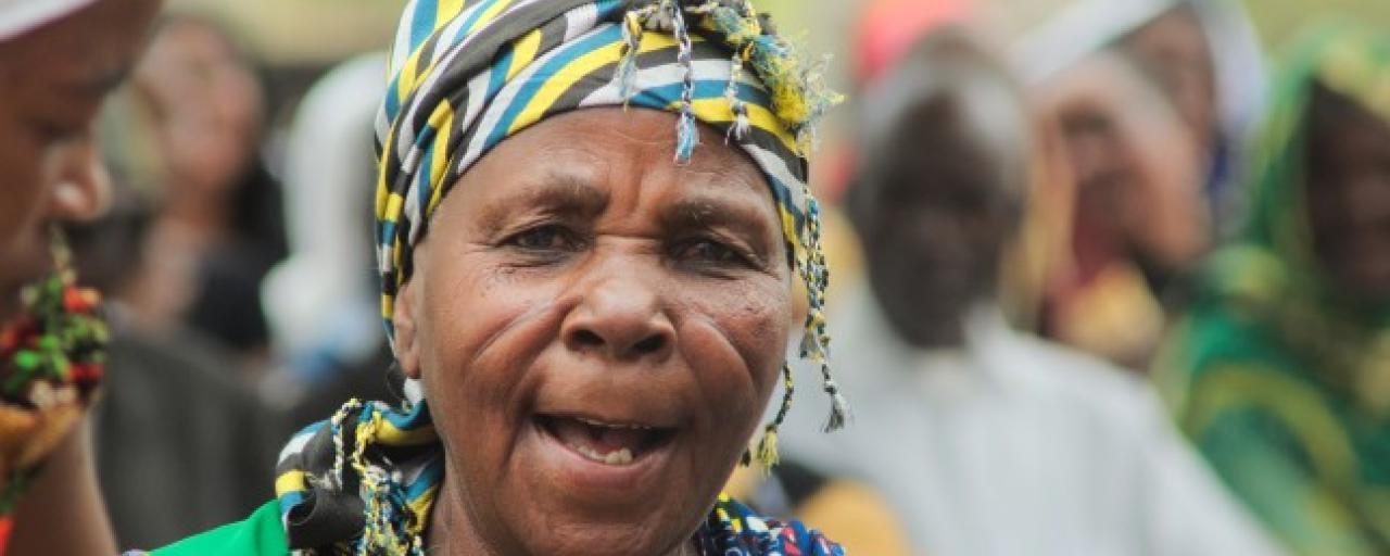 mbugwe old woman in tanzania safariadv exploringafrica