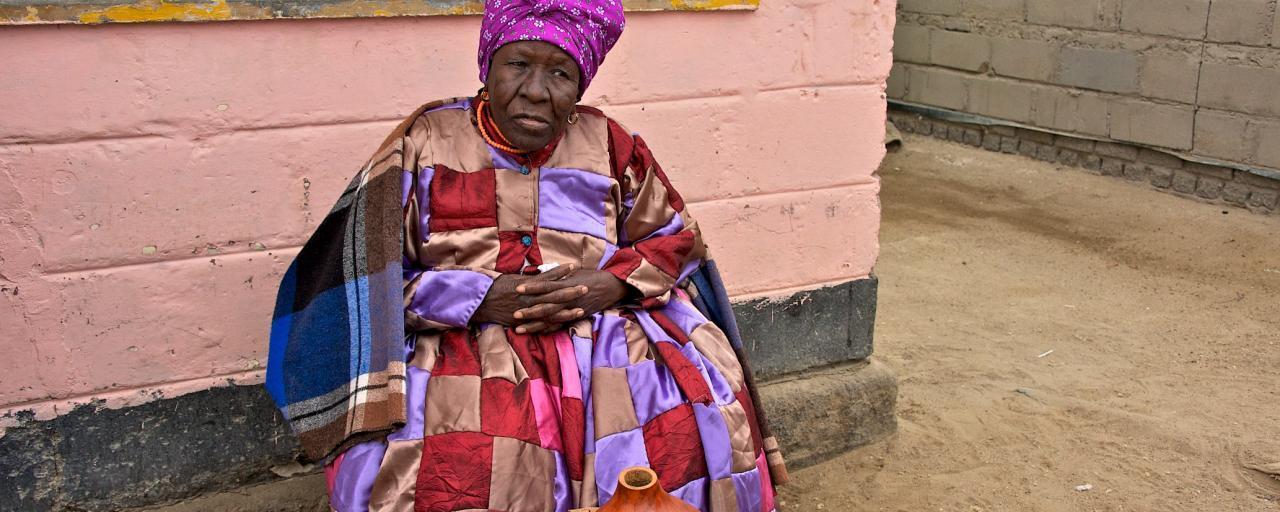 nama people namibia, old woman safariadv exploringafrica travel viaggio africa namibia