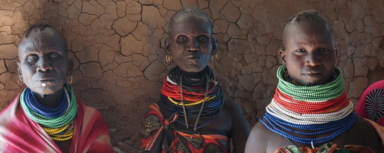 turkana women in kenya