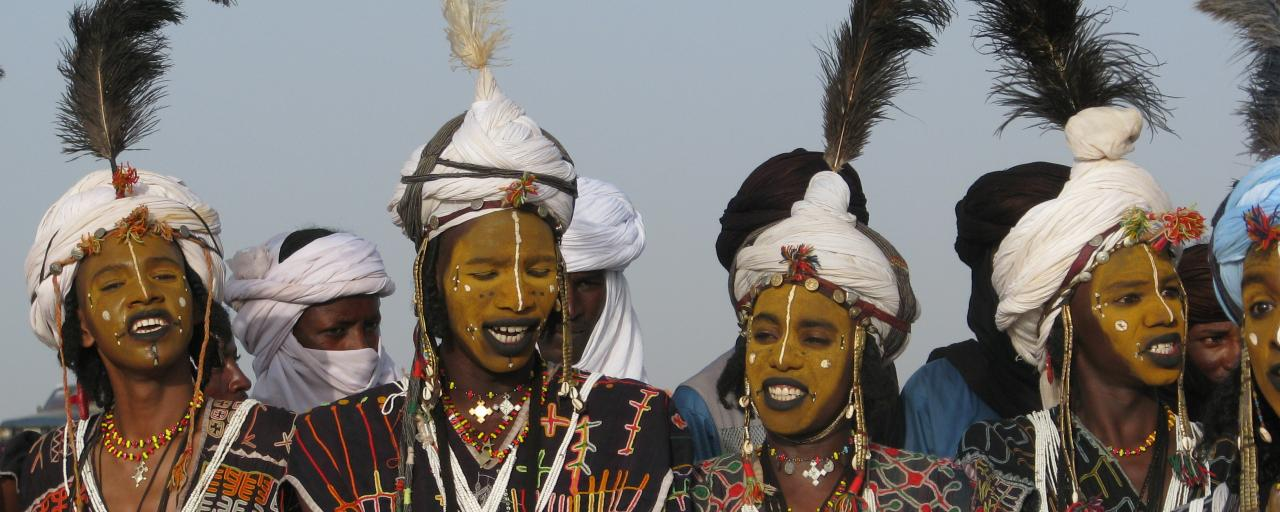 niger chad fulani festival gerewol guerewol