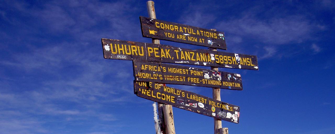 tanzania kilimanjaro exploringafrica safariadv uhuru peak
