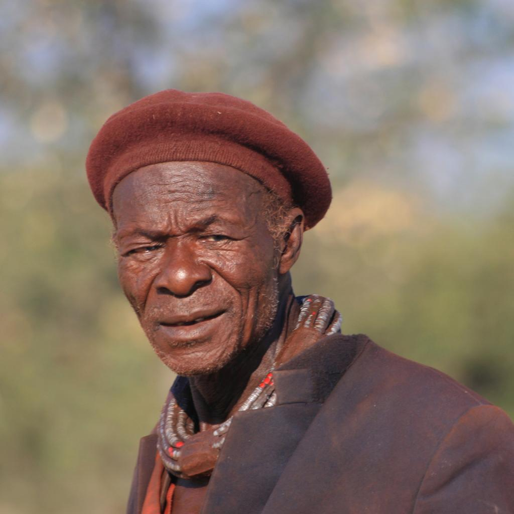himba old man