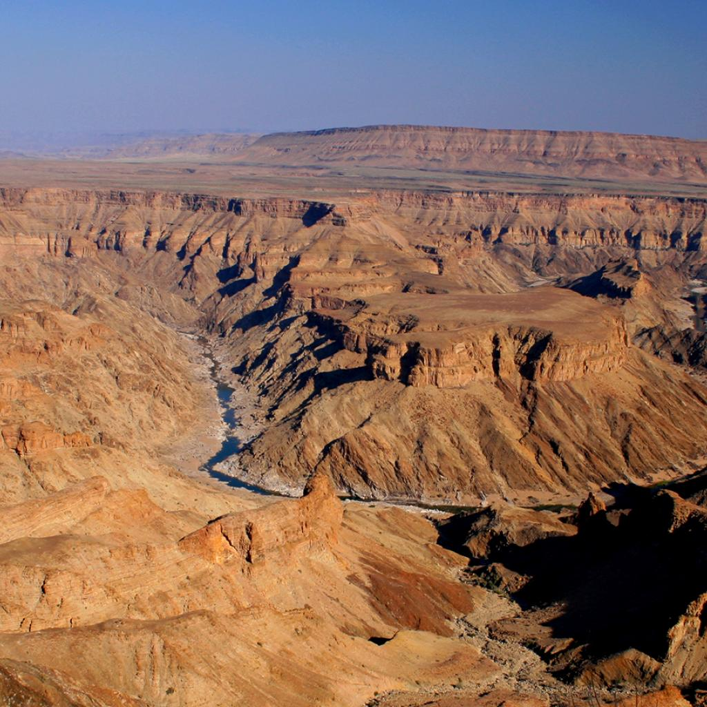 fish river canyon namibia africa