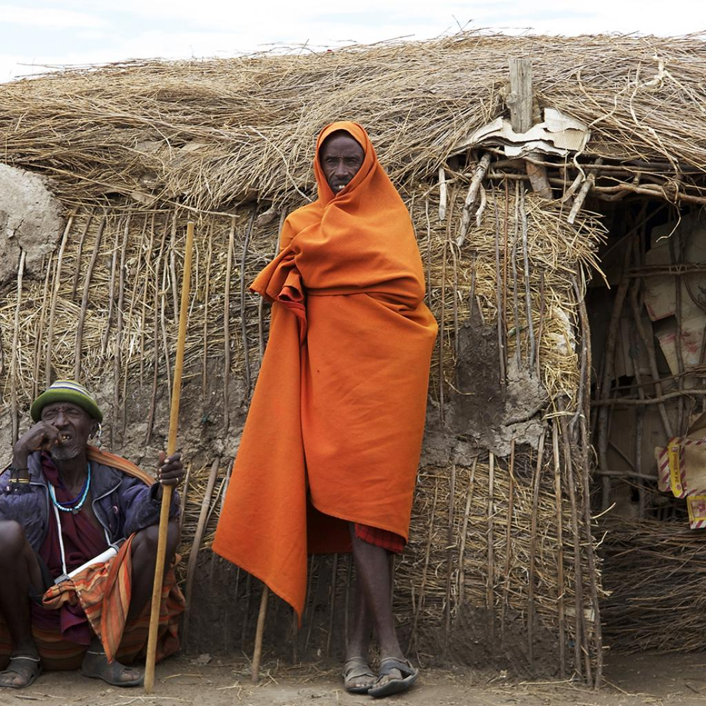 A Maasai village in East Africa