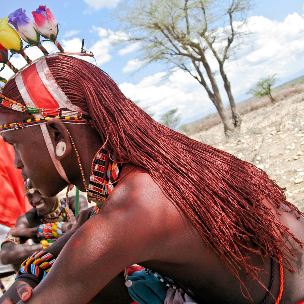 samburu warrior kenya